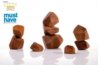 Seven Wooden blocks. Incredable.