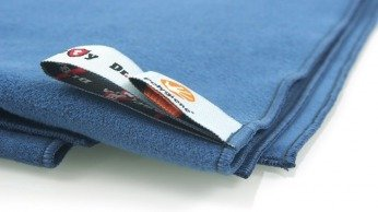Dr. Bacty Quick Dry Towel M navy blue