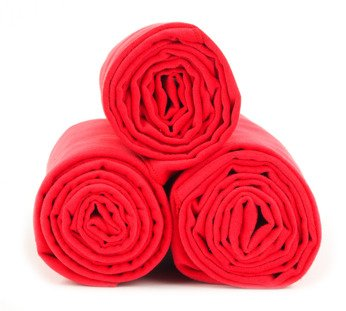 Dr. Bacty Training Towel M Red